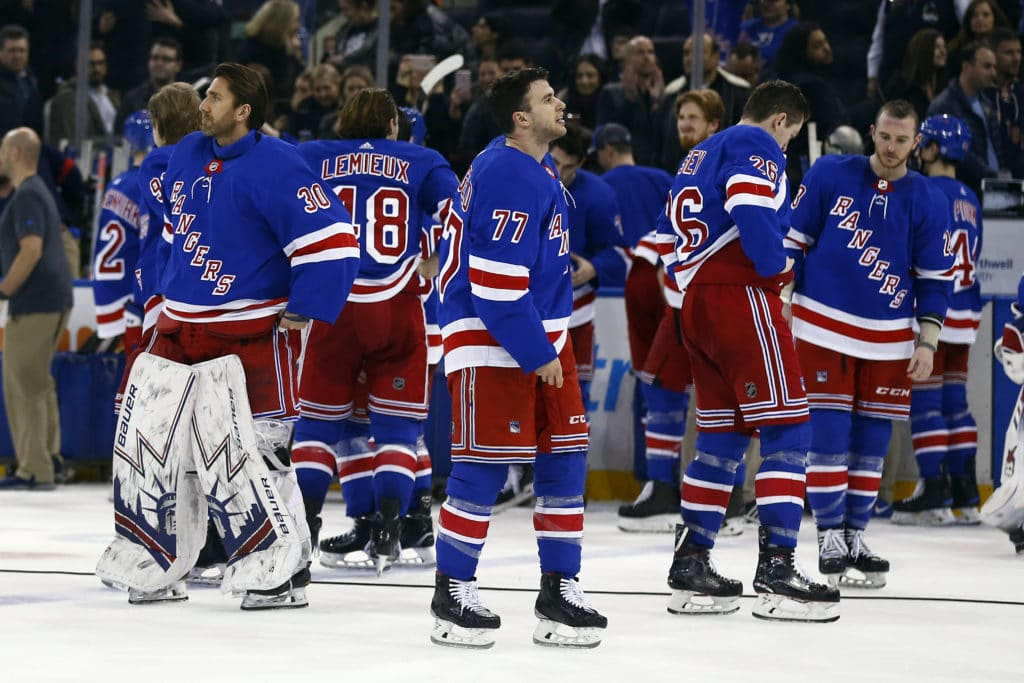 93017307 The New York Rangers have missed the playoffs for the second year in a row.